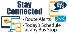 Subscribe to receive Santa Cruz METRO route and agency information