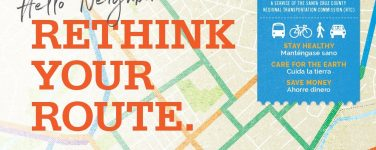 Rethink your route mailer invitation